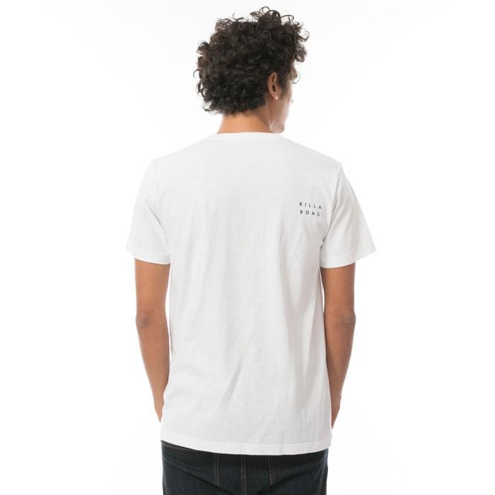 ビラボン BILLABONG UNITED BOX LOGO メンズ 半袖 Tシャツ 白 レギュラーフィット AI011201 WHT