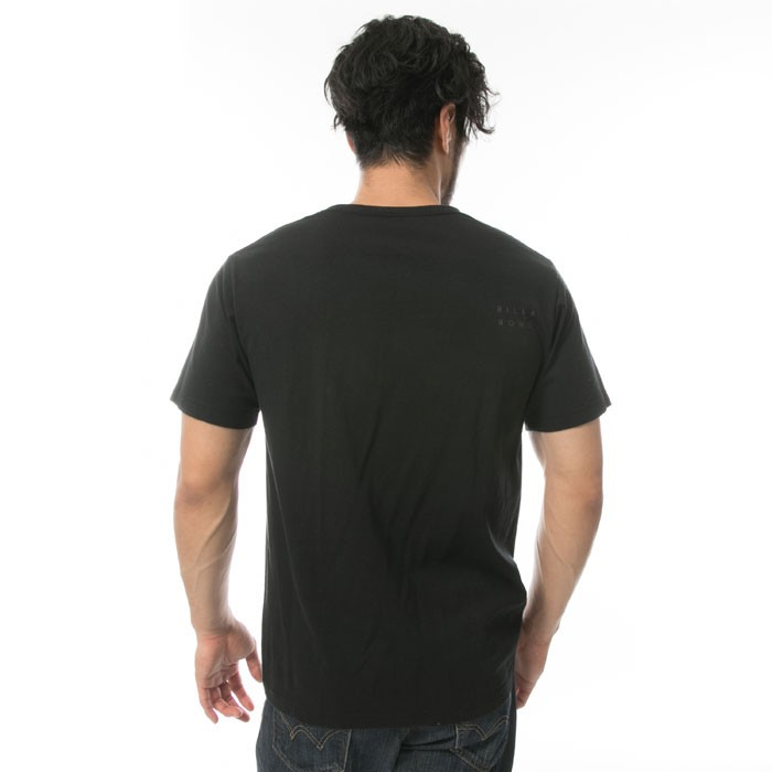 ビラボン BILLABONG メンズ ベーシック ロゴ 半袖 Tシャツ レギュラーフィット メンズTシャツ プリント