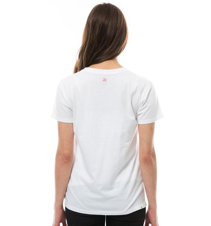 ビラボンレディース ベーシックロゴ半袖Tシャツ モノトーン シンプル 定番 BILLABONG