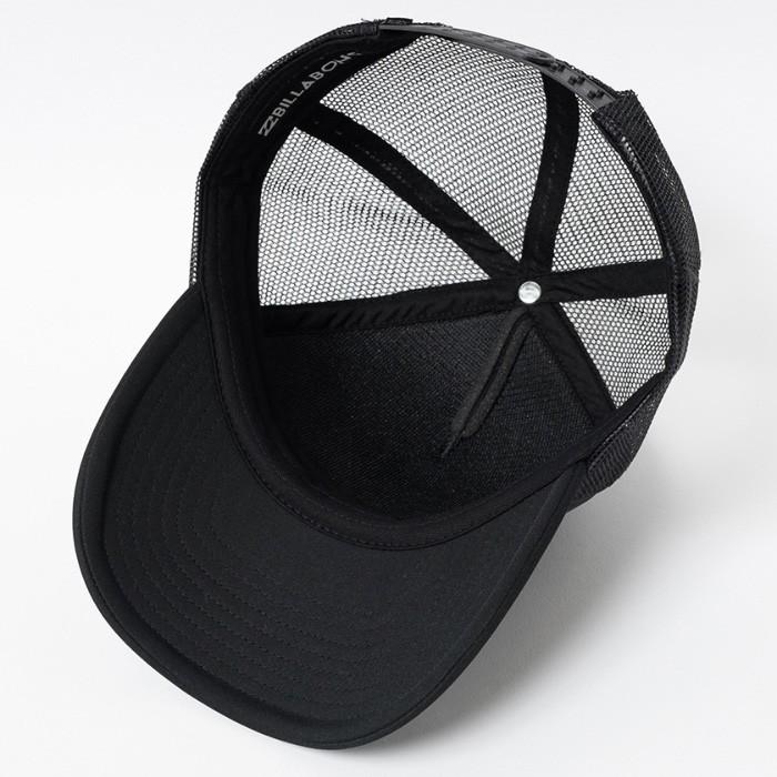 キャップ ビラボン PODIUM TRUCKER メッシュキャップ メンズ ブラック 黒色
