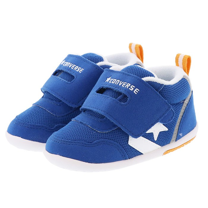 bdc71bd7ca9f4 コンバース ミニ RS ベビー ブルー 男の子 女の子 靴 CONVERSE ベビーシューズ ファーストシューズ