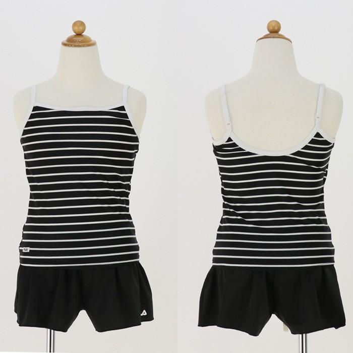 6286bb72004 フィラ ジュニア ガールズ 水着 3点セット 女の子 セパレート水着× Tシャツ ミント
