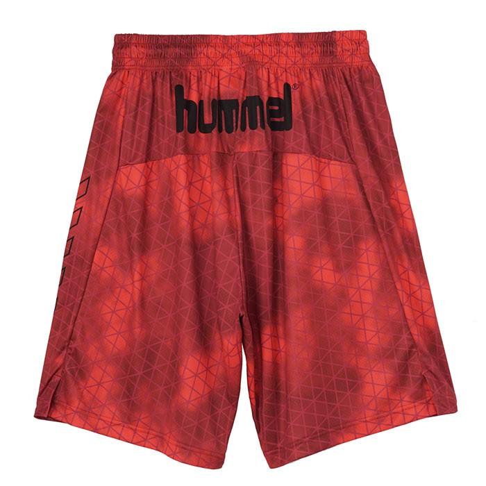 ヒュンメル ハーフパンツ バスパン hummel バスケット パンツ HAPB6012 Fピンク