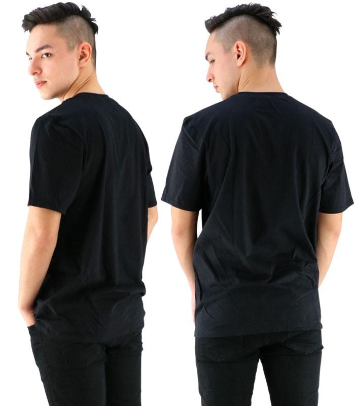 【メール便OK】ハーレー 半そでTシャツ HURLEY プリントTシャツ 黒色 ブラック ロゴTEE