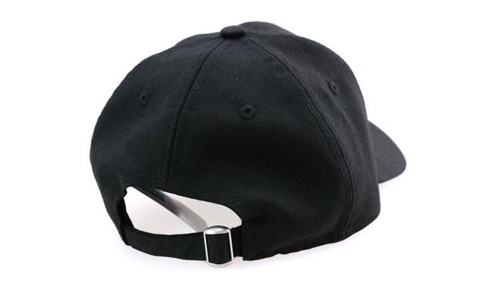 2018新作 ニューエラ ストラップバック キャップ 9THIRTY NYC 930 BASIC FABRICS CAP 帽子 ブラック 黒