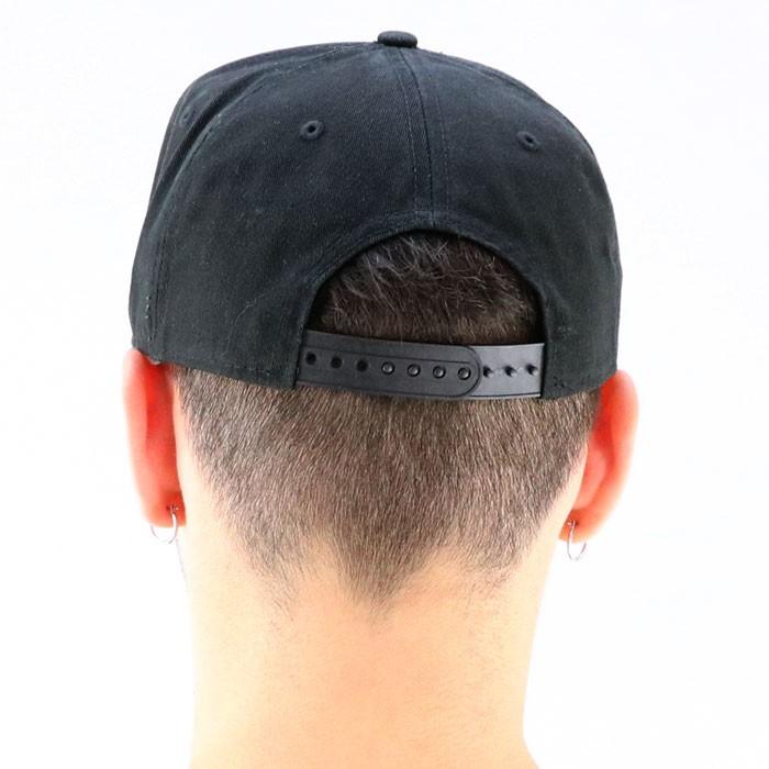 ニューエラ 黒 ダメージ 940 NEWERA 9FORTY NYC CAP ブラック スナップバックキャップ 11557383