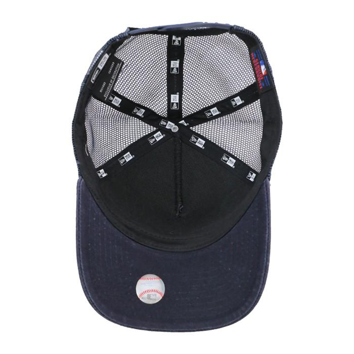 ニューエラ キャップ NEWERA 11557350 メッシュキャップ ネイビー スナップバック 帽子 9FORTY