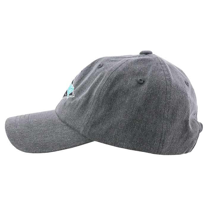 スラッシャー 帽子 キャップ 黒色 CAP ロゴ刺繍 6パネルキャップ THRASHER 18TH-C05 BLK