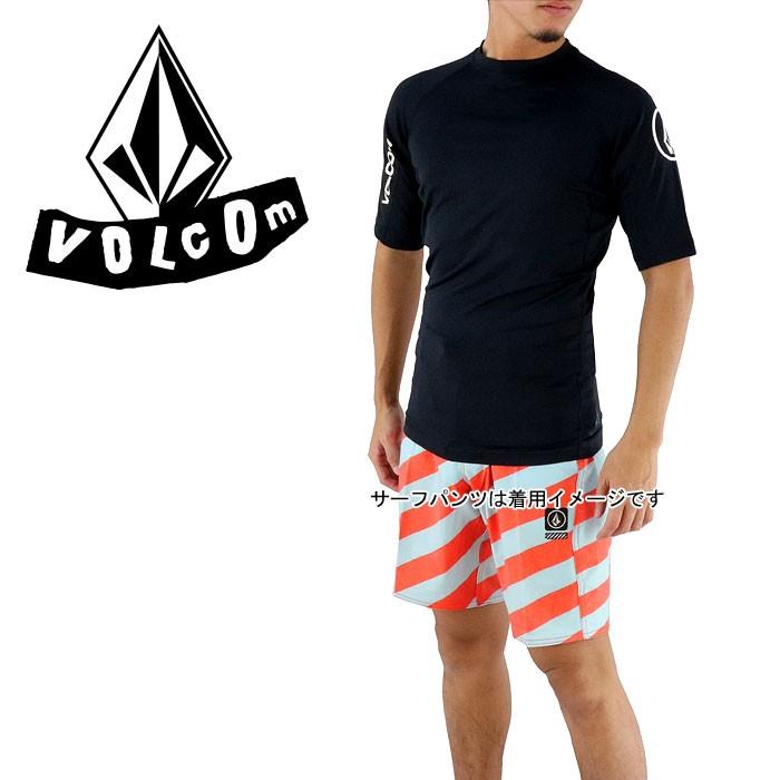 Volcom Lido Solid T-Shirt Surf Lycra