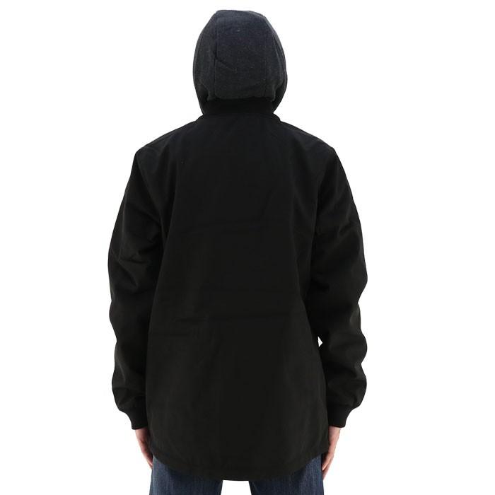 5a1482cf8231 ボルコム VOLCOM メンズジャケット 黒 ブラック 耐水 アウター カジュアル コーチジャケット フリース