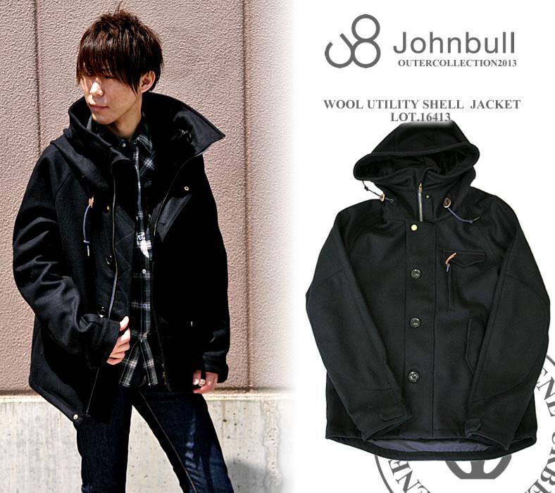 ジーンズカジュアル at forest - ジョンブル メンズ ウール ジャケット ユーティリティーシェル JOHNBULL|Yahoo!ショッピング