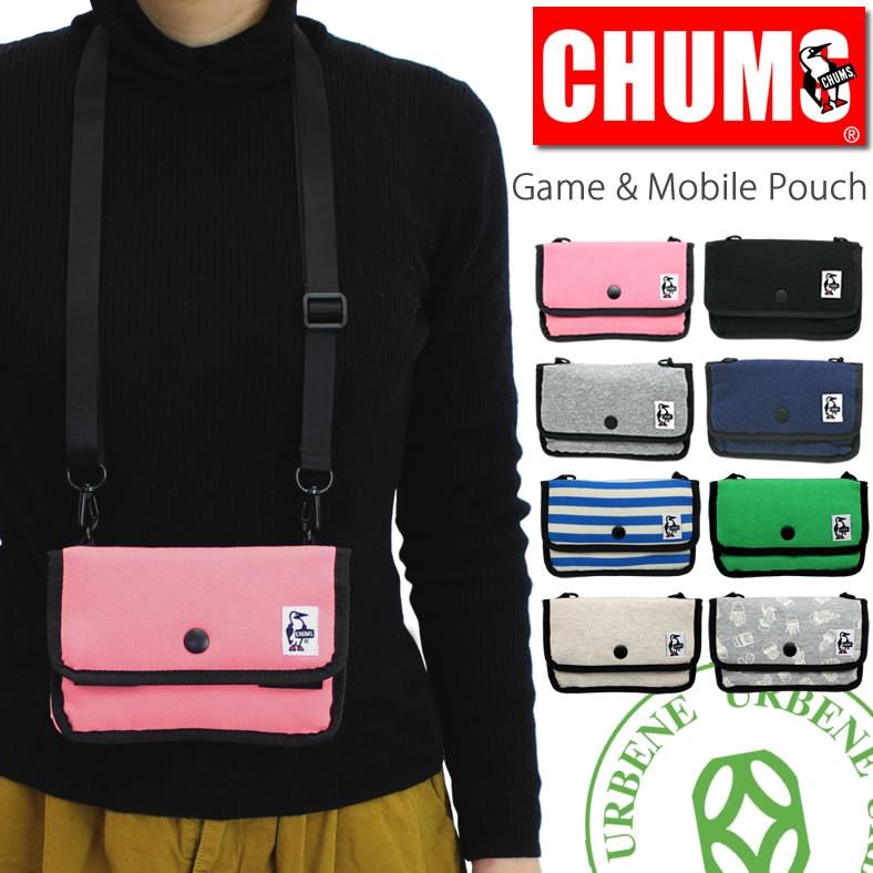 チャムス バック CHUMS ショルダー ミニポーチスウェット Mini Pouch Sweat (ch60-0727) チャムス ショルダー チャムス ショルダーポーチ CHUMS(チャムス)ONLINESHOP