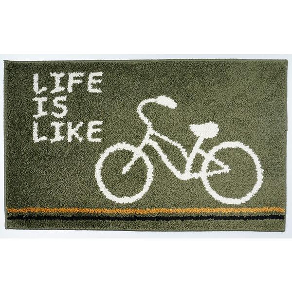 玄関マット おしゃれ 室内 屋内 猫 自転車 柄|usagi-shop|14