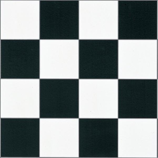 クッションフロアー チェッカー 白黒 チェック柄 ホワイト ブラック モノクロ 床 保護 usagi-shop 08