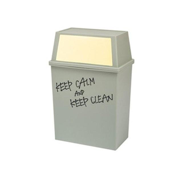 ゴミ箱 フタ付き スリム おしゃれ  45リットル 横型 キッチン リビング|usagi-shop|07