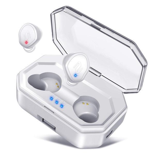 Bluetooth イヤホン 自動ペアリング Bluetooth5.0 ワイヤレスイヤホン タッチ型 高音質 IPX7防水 ブルートゥース イヤホン 完全ワイヤレス 両耳 左右分離型|usamdirect|16