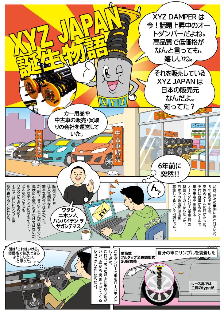【XYZ JAPAN】誕生物語