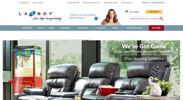 輸入家具 LA−Z−BOY社