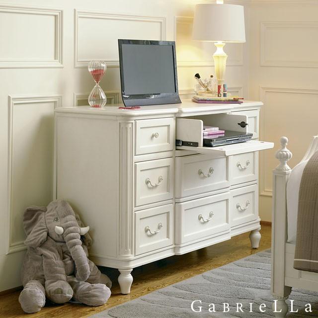 ホワイト家具 白家具 姫家具 かわいい 子供部屋