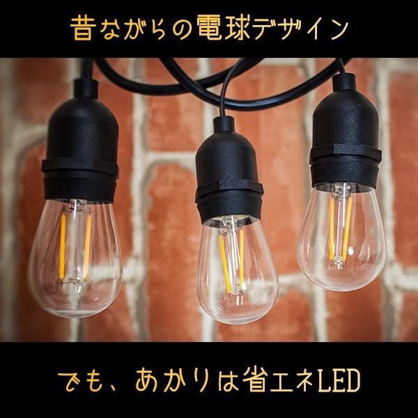 昔ながらの電球デザイン。でも、あかりは省エネのLEDです。