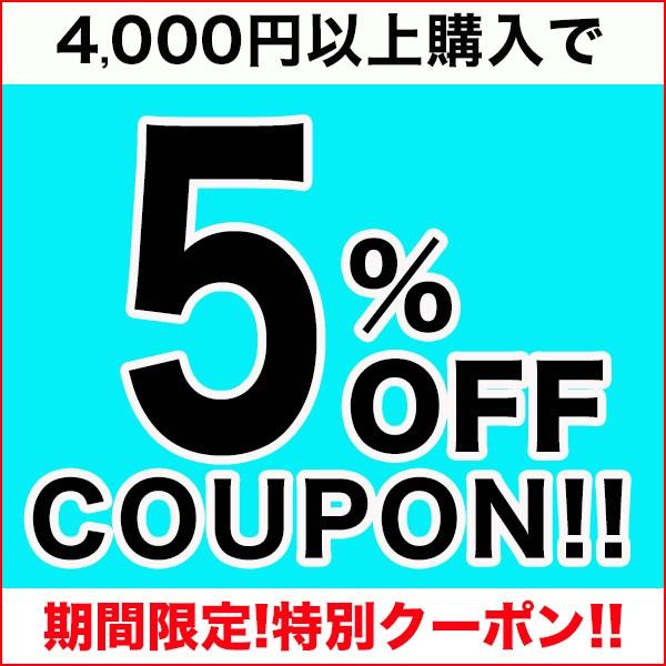 【年度末限定!】4,000円以上購入で5%OFFクーポン★