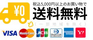 税込5,000円以上のお買い物で送料無料(一部地域を除く)