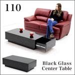 ガラス テーブル センターテーブル ローテーブル リビングテーブル 110 引き出し おしゃれ