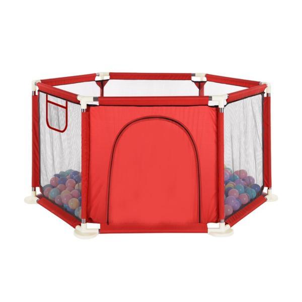 ベビーサークル サークル メッシュ 六角形 洗える 屋内 子供 ソフトベビーサークル おしゃれ 玩具収納 遊び場 赤ちゃん 男の子 女の子 クリスマス プレゼント|vastmart|19