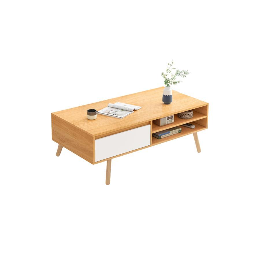 テーブル ローテーブル ミニテーブル センターテーブル 収納 引き出し付き 組立式 ちゃぶ台 北欧 リビング 作業台 リビングテーブル 一人暮らし vastmart 12