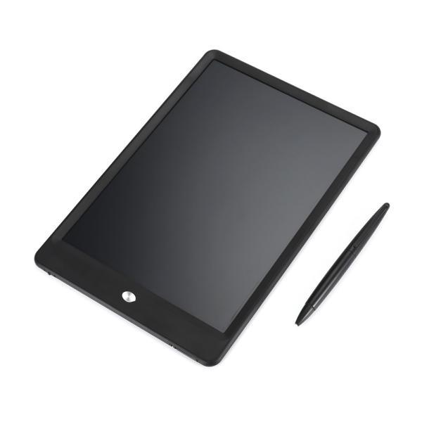 電子メモパッド 10インチ 電子パッド 電子メモ帳 電池式 LCD液晶パネル ペン付き 繰り返し 伝言板 掲示板 黒板 ポータブル 手書きパッド コンパクト お絵描き|vastmart|10