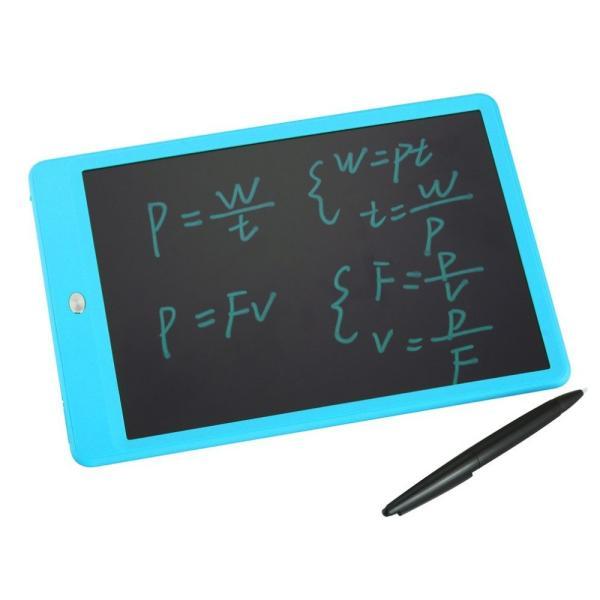 電子メモパッド 10インチ 電子パッド 電子メモ帳 電池式 LCD液晶パネル ペン付き 繰り返し 伝言板 掲示板 黒板 ポータブル 手書きパッド コンパクト お絵描き|vastmart|13