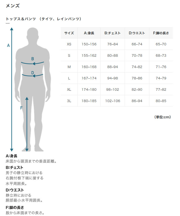 mens size