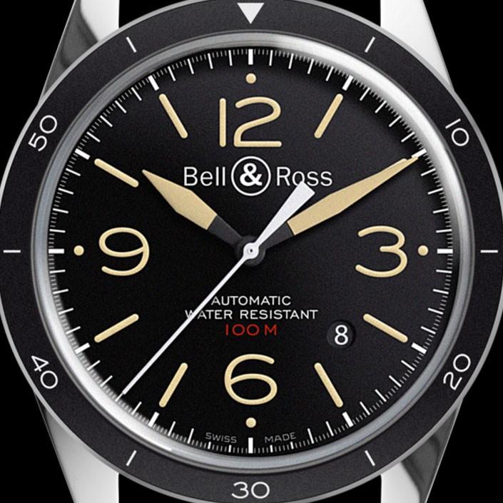 new product d0295 458b4 ベル&ロス腕時計 BR 123 SPORT HERITAGE ベルロス 時計 レディース メンズ Bell&Ross