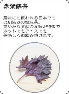 ヴィーナース|赤紫蘇茶