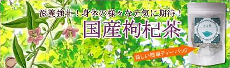 クコ茶は、中国では漢方薬に使用される健康茶|美と健康のヴィーナース