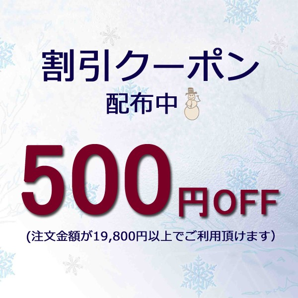 期間限定★500円割引きクーポン!