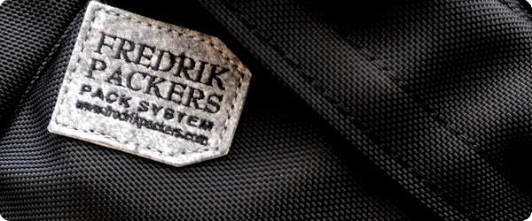 FREDRIK PACKERS[フレドリックパッカーズ]Bike Pack Light Ballistic Black Limited Mサイズ