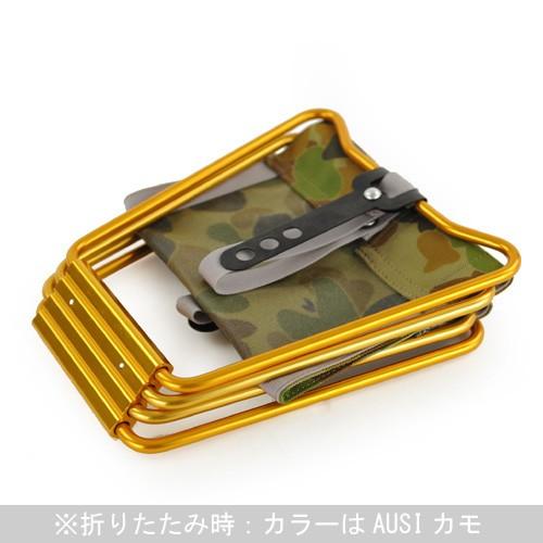ADIRONDACK【アディロンダック】マイクロチェア ゴールドフレーム