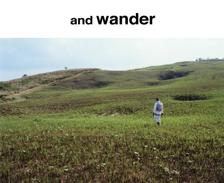 and wander アンドワンダー