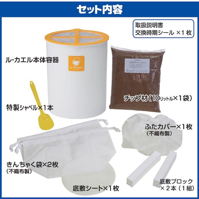 家庭用生ごみ処理機 ル・カエル SKS-110型