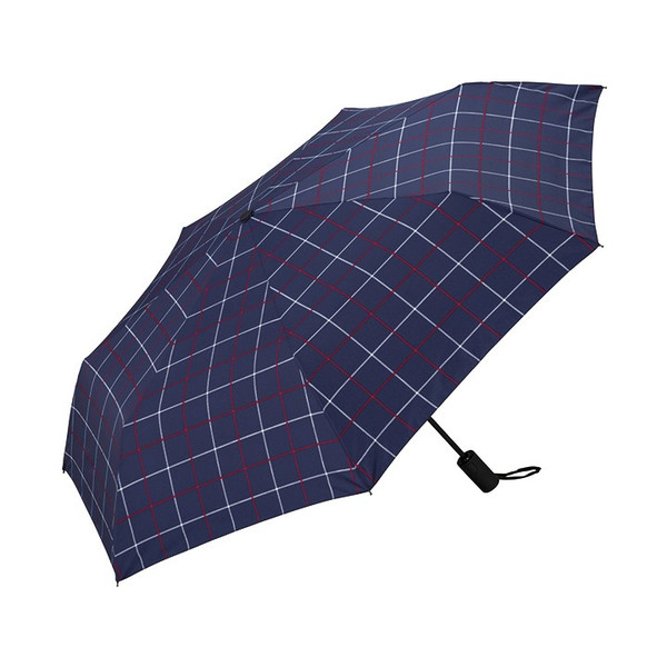 Wpc 折りたたみ傘 自動開閉 軽量 レディース メンズ 男女兼用 日傘 晴雨兼用傘 チェック ボーダー柄 UNISEX ASC Umbrella w.p.c ワールドパーティー MSJ|villagestore|07