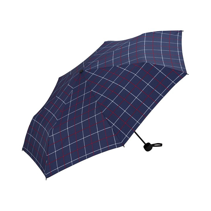 Wpc 折りたたみ傘 軽量 大きい58cm レディース メンズ 男女兼用傘 晴雨兼用傘 チェック柄 BASIC FOLDING UMBRELLA Wpc ワールドパーティー MSM|villagestore|04