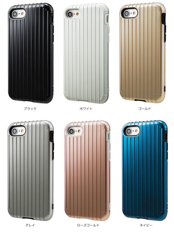 """カラー GRAMAS COLORS """"Rib"""" Hybrid case CHC436 for iPhone 7"""