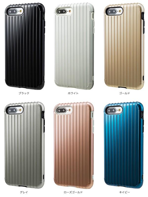 """カラー GRAMAS COLORS """"Rib"""" Hybrid case CHC446 for iPhone 7 Plus"""