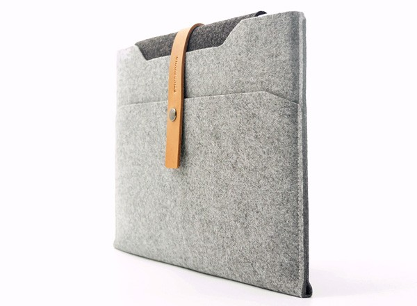 Charbonize レザー & フェルト ケース  for MacBook Air 13インチ(スリーブタイプ)