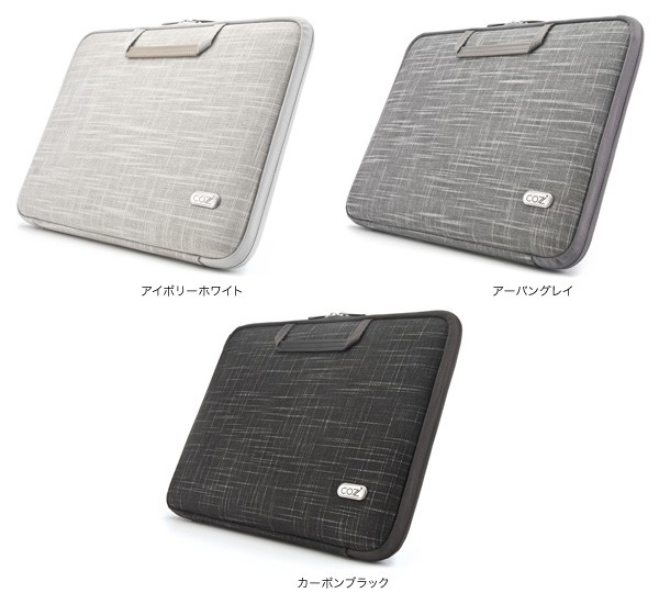 カラー Cozistyle Linen Smart Sleeve for MacBook Air 11インチ(Early 2015/Early 2014/Mid 2013/Mid 2012/Mid 2011/Late 2010)/MacBook 12インチ