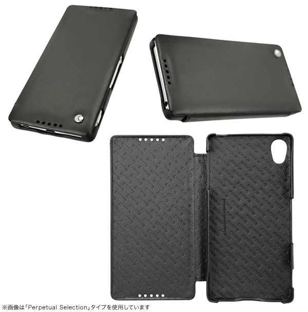 Noreve Tentation Tropezienne Couture Selection レザーケース for Xperia (TM) Z4 SO-03G/SOV31/402SO 横開きタイプ