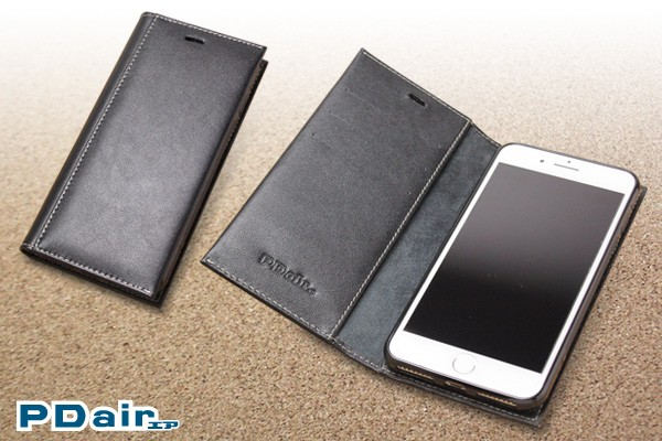 PDAIR レザーウォレットケース for iPhone 7 Plus 横開きタイプ