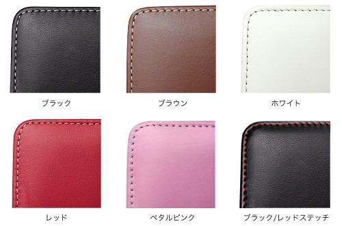 カラー PDAIR レザーウォレットケース for iPhone 7 Plus 横開きタイプ