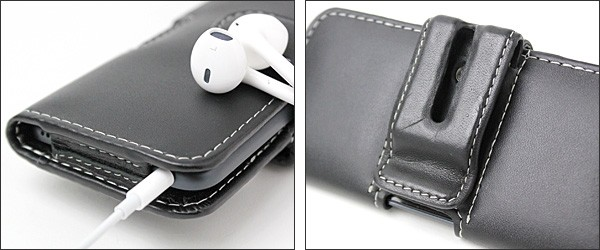 PDAIR レザーケース for iPod touch(5th gen.) ポーチタイプ